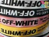 Webbing colorido do jacquard do poliéster da forma para acessórios de roupa do vestuário