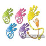 Het in het groot Grappige Plastic Elastische Stuk speelgoed van de Kinderen van het Speelgoed van de Hand Kleverige