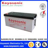 batterie rechargeable neuve de la garantie 12V 100ah de batterie solaire de batterie de cinq ans d'énergie solaire