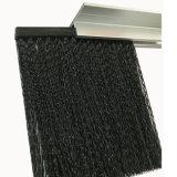 Tür-Unterseiten-Schleife-Pinsel mit Aluminiumhalter
