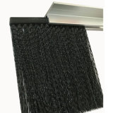 De Nylon Borstels van uitstekende kwaliteit van de Veger van de Deur van de Borstel van de Tochtstrip met het Kanaal van het Metaal