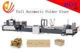 Machine automatique de Gluer de dépliant avec la machine d'agrafeuse (JHXDX-2800)