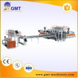 Máquina de Fazer Folha Impermeável-Larga do Assoalho do PE do PVC PP Linha Plástica Extrusora