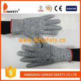 Ddsafety 2017 черных белых связанных анти- перчаток работы отрезока 13G