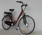 bici eléctrica del motor 250W del estilo sin cepillo trasero de la ciudad con el neumático de 700c Kenda (JSL036G-8)