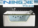 Bañera de acrílico 2016 del masaje de las mercancías sanitarias de Foshan Ningjie (3010)