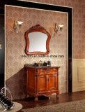 Классицистическая тщета ванной комнаты твердой древесины