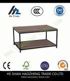 A mesa de centro de Hzct114 Curtis Metals a tabela de vidro
