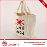 Promotie Nieuwste Katoenen van het Canvas van de Druk Silkscreen Zak/de Zak van de Hand