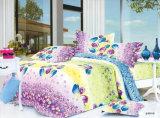 中国Suppilerのホーム織物のクイーンサイズの羽毛布団カバー多彩で安い寝具セット