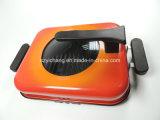 非26cmオレンジふたが付いているニースデザイン棒の魚の肉焼き器