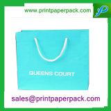 Tailoerdの熱い押すサテンのリボンの贅沢な紙袋