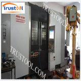CNC que fabrica piezas mecánicas del CNC de la asamblea
