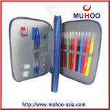 Rectángulo de lápiz inmóvil del bolso de la historieta para los niños