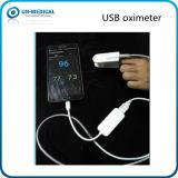 Oxymètre du pouls Neuf-USB SpO2 pour la connexion mobile