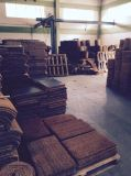 Gebildet normale unbelegte Brown 100% natürliche KakaoCocos Koko China-in den willkommenen Coco-Coir-Kokosnuss-Faser-Fußmatten