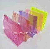Standard variopinto personalizzato di estensione del sacchetto della chiusura lampo del PVC del sacchetto della saldatura del PVC della plastica