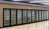 Portello di vetro per la camminata nella cella frigorifera