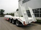 Niedriger Bett-halb Schlussteil für Behälter-und Maschinerie-Transport
