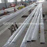 304継ぎ目が無いステンレス製の正方形の鋼鉄管
