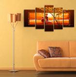 Оптовые горячие печати холстины типа Индии украшения комнаты высокого качества надувательства