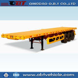 3 axe 40FT 45FT Container Chassis Flatbed Lowbed Semi Trailer