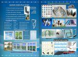 De nieuwe Openslaand ramen van pvc van het Glas van het Ontwerp Dubbele Isolerende