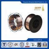 0.9mm 15kg D270mmの穏やかな鋼鉄銅の上塗を施してある溶接ワイヤ(Aws Er70s-6)