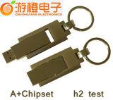 De Aandrijving van de Flits van het Metaal USB van de hoge snelheid (om-M110)