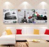 3 لون جدار فنية [أيل بينتينغ] ملخّص صورة زيتيّة منزل زخرفة يطبع نوع خيش صورة لأنّ يعيش غرفة يشكّل فنية [مك-264]