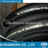 El manguito de la succión y de la descarga/el alambre de acero torció en espiral rango grande del diámetro del refuerzo del manguito de goma