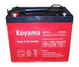 batterie profonde du cycle AGM de 12V 85ah pour rv (Camping-car)
