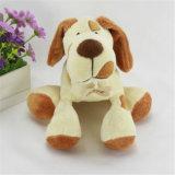 リアルな詰められたハスキーなおもちゃのプラシ天のゴールデン・リトリーバー犬のおもちゃ