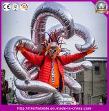 LED-Karnevals-aufblasbares Stadiums-Erscheinen-Kostüm