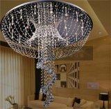 卸し売り工場価格のガラス吊り下げ式の軽い水晶結婚式の装飾のシャンデリアOm930