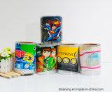 Wärmeübertragung-Drucken-Film auf dem Plastik