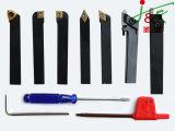 7 ferramentas do CNC do PCS para a máquina/ferramentas/ferramenta de estaca/ferramentas de carboneto de giro