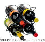 Het nieuwe Rek van de Wijn van het Metaal van het Ontwerp Praktische voor de Opslag van de Fles