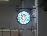 Напольный знак логоса вакуума Signage 3D загоранный СИД