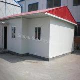 Casa pré-fabricada provisória da construção de aço para Angola