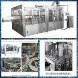 Máquina de relleno y que capsula del animal doméstico de la venta caliente del fregado de las botellas automático