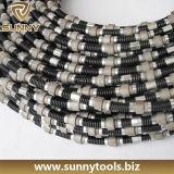 Zaag de van uitstekende kwaliteit van de Draad van de Diamant voor de Steengroeven van het Graniet