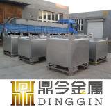 Tanque químico do Tote do litro IBC da aprovaçã0 1000 para o armazenamento e o transporte