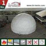 Tente de demi de sphère de dôme géodésique de tissu de PVC de structure de bâti