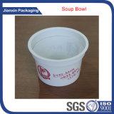 Подгоняйте пластичную чашку мороженного