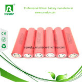 Célula de batería recargable de Samsung 18650 25r 2500mAh 3.6V