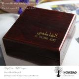 Rectángulo de joyería de madera de lujo de encargo de Hongdao Wholesale_L