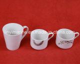 De gouden Koppen van de Thee Decaled van de Koppen en van de Schotels van de Koffie van de Leverancier Eenvoudige Ceramisch voor Stijl Moden
