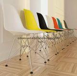Самомоднейший черный стул пластичной смолаы с ногами металла (M-X3058)