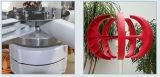 Luz vertical del generador de turbina de viento del eje 300W 12/24V y generador de viento portable